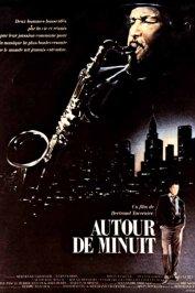 background picture for movie Autour de minuit