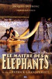 background picture for movie Le maitre des elephants