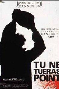 Affiche du film : Tu ne tueras point