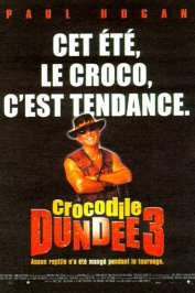 background picture for movie Crocodile dundee iii