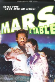 background picture for movie Mars a table !