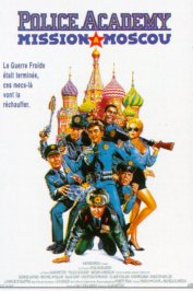 background picture for movie Police academy mission a moscou
