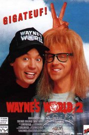 background picture for movie Wayne's world 2