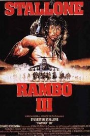 background picture for movie Rambo III