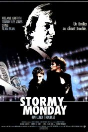 background picture for movie Stormy monday