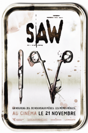 background picture for movie Saw 4