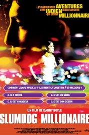 background picture for movie Slumdog Millionaire