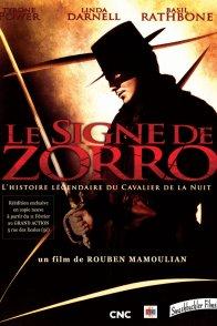 Affiche du film : Le signe de zorro