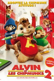 background picture for movie Alvin et les Chipmunks 2