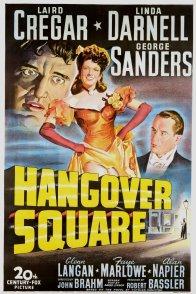Affiche du film : Hangover square
