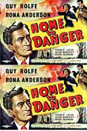 background picture for movie Home to danger