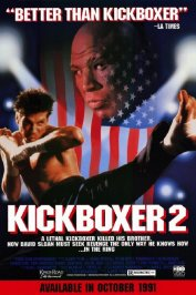 background picture for movie Kickboxer 2