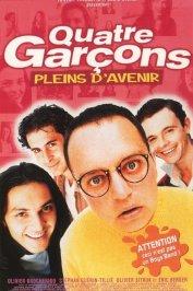 background picture for movie Quatre garcons pleins d'avenir