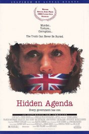 background picture for movie Hidden agenda