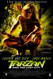 background picture for movie Tarzan (la cite perdue)
