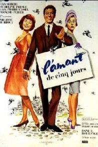 Affiche du film : L'amant de cinq jours