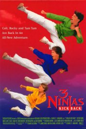 background picture for movie Les 3 ninjas contre attaquent